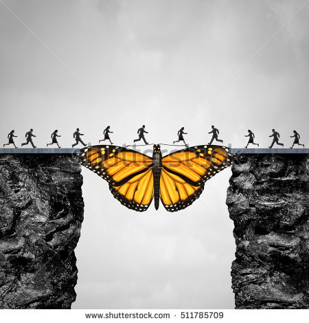 stock-photo-opportunity-and-transition-concept-or-migration-as-a-butterfly-acting-as-a-bridge-between-two-511785709